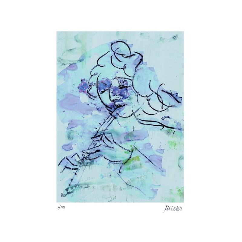 Armin Mueller-Stahl * Concertino handsigniertes Original Kunst Bild kaufen