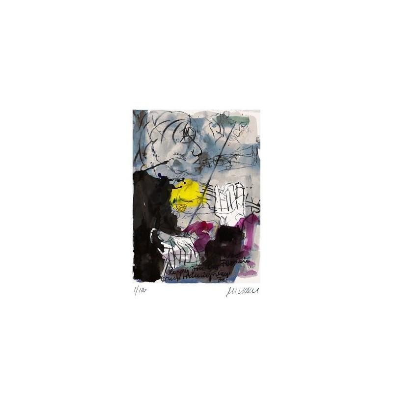 Armin Mueller-Stahl * Hemingways Bar - Key West handsigniertes Original Kunst Bild kaufen