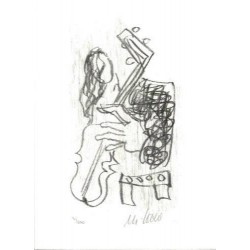 Armin Mueller-Stahl Kunst Bild kaufen Venice in the rain   handsigniertes Original