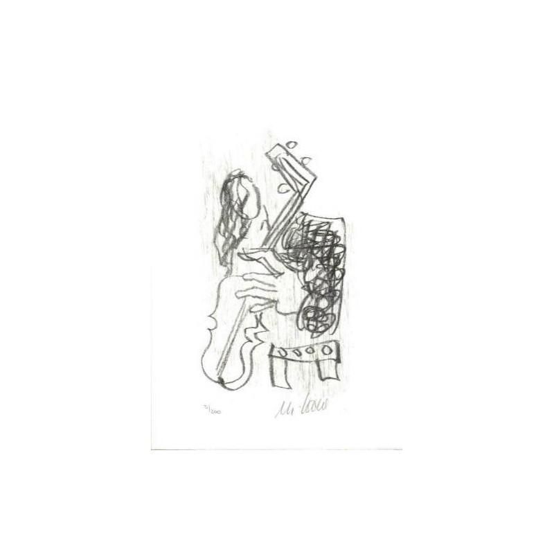 Armin Mueller-Stahl Kunst Bild kaufen Venice in the rain | handsigniertes Original