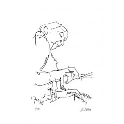 Armin Mueller-Stahl Kunst Bild kaufen Jazz-Pianospieler   handsigniertes Original