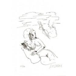 Armin Mueller-Stahl Kunst Bild kaufen Strandsonate   handsigniertes Original