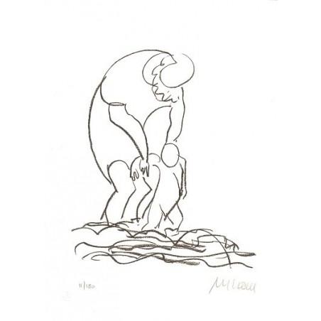 Armin Mueller-Stahl Kunst Bild kaufen Am Meer   handsigniertes Original