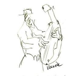Armin Mueller-Stahl Kunst Bild kaufen Gigi-Venice   handsigniertes Original