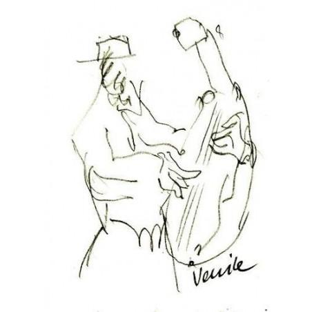 Armin Mueller-Stahl Kunst Bild kaufen Gigi-Venice | handsigniertes Original