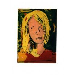 Armin Mueller-Stahl Kunst Bild kaufen Sommermädchen   handsigniertes Original