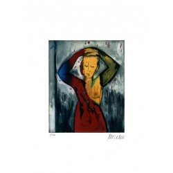 Armin Mueller-Stahl Kunst Bild kaufen Vor dem Spiegel | handsigniertes Original