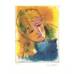 Armin Mueller-Stahl Kunst Bild kaufen Strandkind   handsigniertes Original