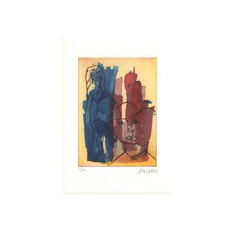 Armin Mueller-Stahl Kunst Bild kaufen In Erwartung | handsigniertes Original