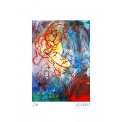 Armin Mueller-Stahl Kunst Bild kaufen Zugeneigt   handsigniertes Original