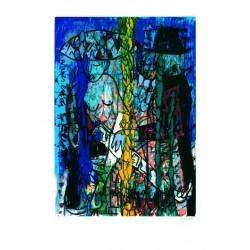 Armin Mueller-Stahl Kunst Bild kaufen Wie es Euch gefällt   handsigniertes Original