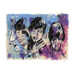 Armin Mueller-Stahl Kunst Bild kaufen The Beatles (Twist and Shout)   handsigniertes Original