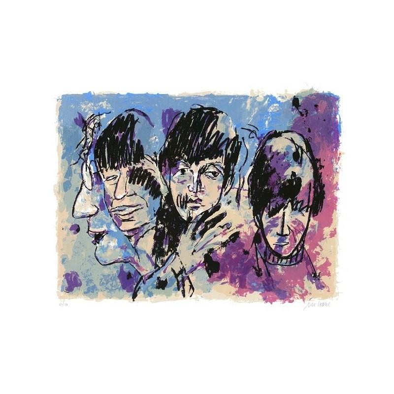 Armin Mueller-Stahl Kunst Bild kaufen The Beatles (Twist and Shout) | handsigniertes Original