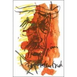 Armin Mueller-Stahl Kunst Bild kaufen Jean Buddenbrook   handsigniertes Original