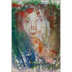 Armin Mueller-Stahl Kunst Bild kaufen Mädchen in Venice   handsigniertes Original