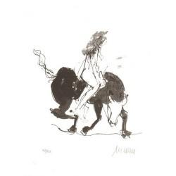 Armin Mueller-Stahl Kunst Bild kaufen Europa und der Stier   handsigniertes Original