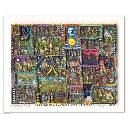 James Rizzi Bilder kaufen hier A Pride in a Culture like no other 3D drucksigniert
