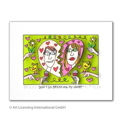 3D Bild James Rizzi Original kaufen - Dont go breaking my heart