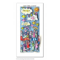"3D-Original Bild James Rizzi ""When it rains it pours"" kaufen"