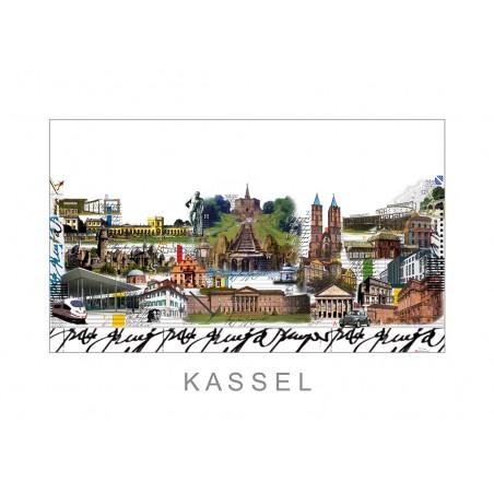 "Leslie G. Hunt Original Bild kaufen ""Kassel"" handsigniert"
