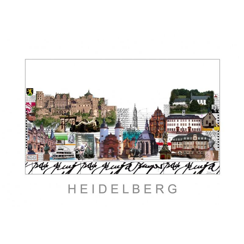 "Leslie Hunt Original Bild kaufen ""Heidelberg"""