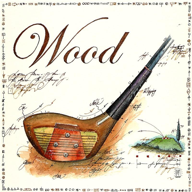 """Original Bild von Leslie G. Hunt kaufen """"Wood"""""""