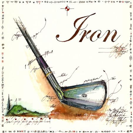 """Original Bild von Leslie G. Hunt handsigniert """"Iron"""""""