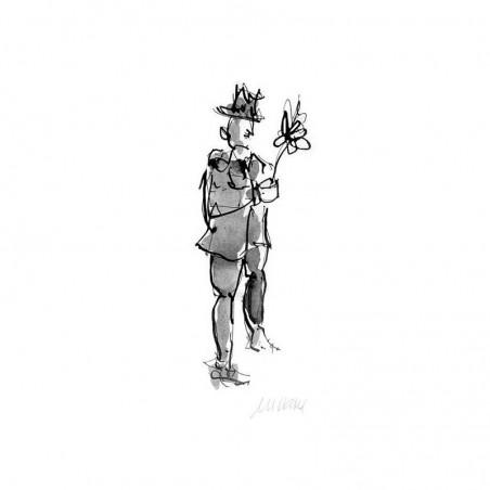 Armin Mueller-Stahl Kunst Bild kaufen All the best | handsigniertes Original