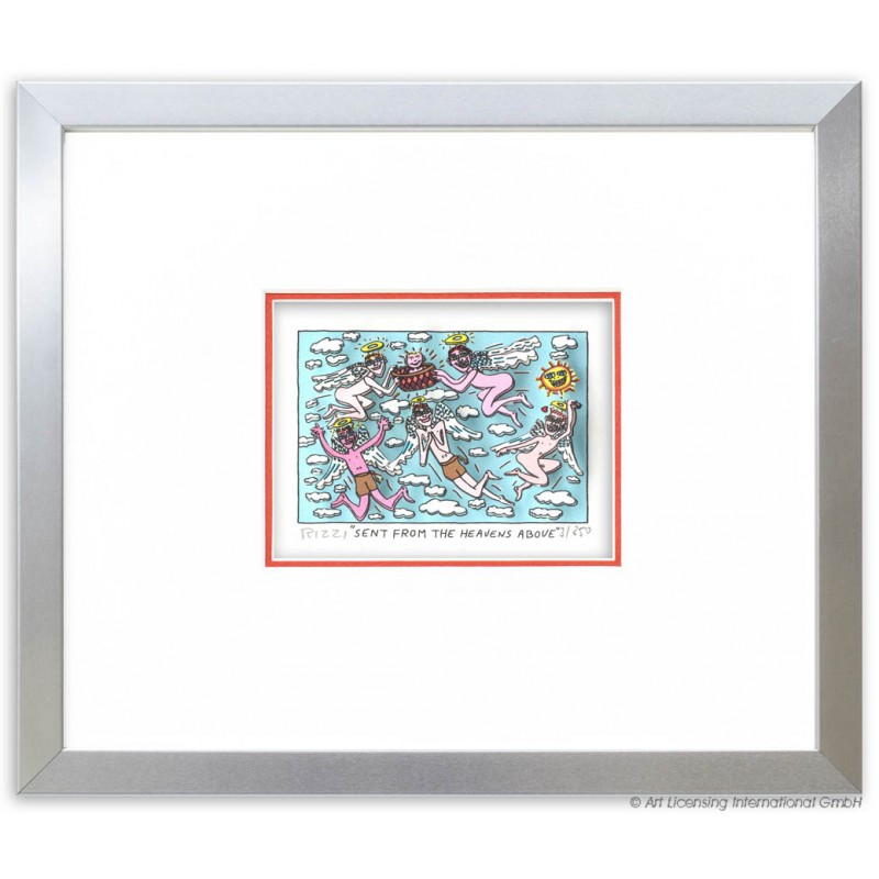 "James Rizzi ""Sent from the heavens above"" 3D Bild kaufen"