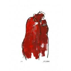 """Armin Mueller-Stahl """"In Rot"""" Original Bilder kaufen"""