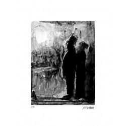 """Armin Mueller-Stahl """"Im Mondlicht"""" Original Bilder kaufen"""
