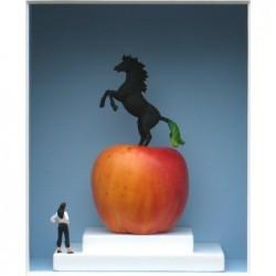 """Volker Kühn """"(V)Pferde(n)-Apfel"""" 3D Objekt Original Bilder kaufen"""