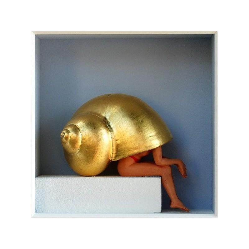 """Volker Kühn """"Kleine Ruhezone"""" 3D Objekt Original Bilder kaufen"""