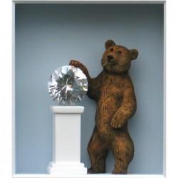 "Volker Kühn ""Lucky Bear"" 3D Objekt Original Bilder kaufen"