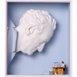 """Volker Kühn """"Das übermächtige Vorbild"""" 3D Objekt Original Bilder kaufen"""