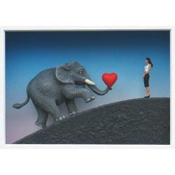 """Volker Kühn """"Ich bin ein Elefant Madame"""" Original 3D Objekt Bild kaufen"""