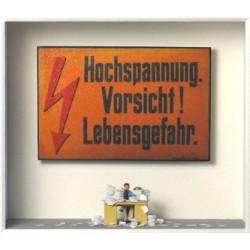 """Volker Kühn """"Im Stress"""" 3D Objekt Original Bilder kaufen"""