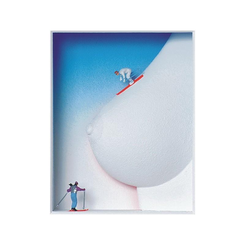 """Volker Kühn """"Ski Heil!"""" 3D Objekt Original Bilder kaufen"""