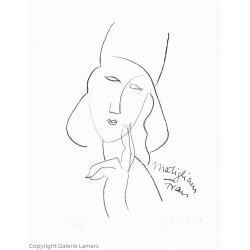 "Armin Mueller-Stahl ""Modigliani Frau"" Original Bilder kaufen"