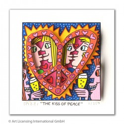 "James Rizzi 3D Bilder kaufen ""The kiss of peace"""