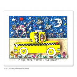 James Rizzi - A taxi ride...