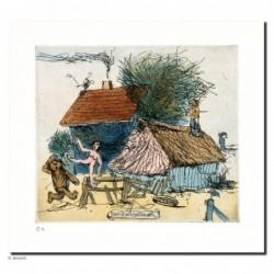 """Original Bild """"Bad Zwischenahn"""" von Janosch - Kunst mit Zertifikat kaufen"""