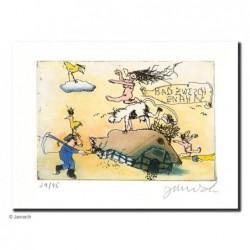 """Original Bild """"Bad Zwischenahn 4"""" von Janosch - Kunst mit Zertifikat kaufen"""