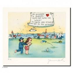 """Original Bild """"Bodensee 2"""" von Janosch - Kunst mit Zertifikat kaufen"""