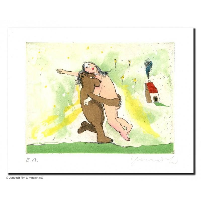 """Original Bild """"der Bär"""