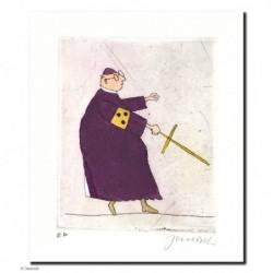 """Original Bild """"Eminenz wird Ihn finden"""" von Janosch - Kunst mit Zertifikat kaufen"""