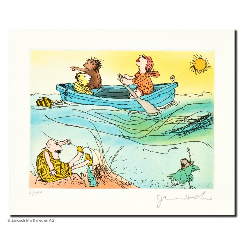 """Original Bild """"Es schwankt das Meer"""