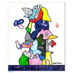 """Original Bild """"Frühlingserwachen"""" von Otmar Alt - Kunst mit Zertifikat kaufen"""