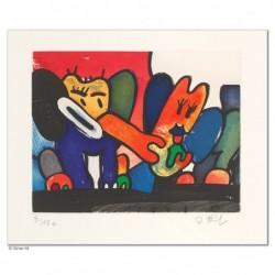 """Original Bild """"ELEFANTENLIEBE"""" von Otmar Alt - Kunst mit Zertifikat kaufen"""