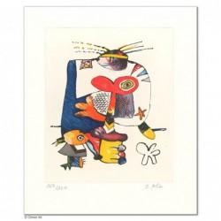 """Original Bild """"KLEINER ELEFANT"""" von Otmar Alt - Kunst mit Zertifikat kaufen"""